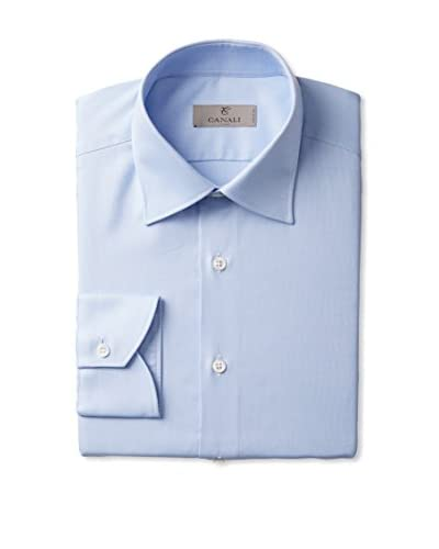 Canali Men's Long Sleeve Dress Shirt