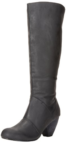 Gomax Womens Afton 14 Knee High Black
