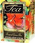 Hawaiian Value Pack Islands Tea Hibiscus Honey Lemon Green 4 Boxes