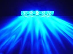 Lazer Blue 5 LED Lazer Light