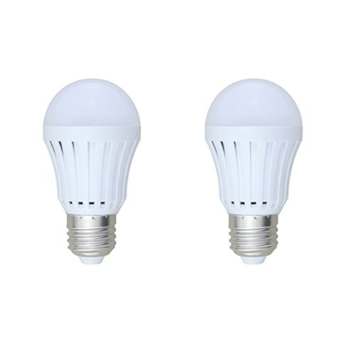 SmartDealsPro 2-Pack AC100-240V 3W 6000K Cool White E27 LED Lights Bulb Lamp 260 Lumen, 25W Incandescent Bulb Replacement Plus Free Cable Tie
