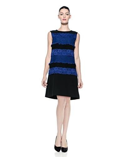 Love Moschino Kleid blau/schwarz