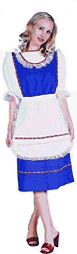 Lady Bavarian Costume (2pcs) in Blue or Green