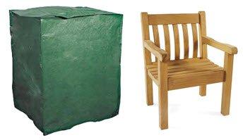 Schutzhüllen Abdeckplane für Gartenstuhl, Sessel, Stapel- und Relaxstühle 66cm
