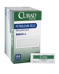 Medline CUR005345Z Curad Petroleum Jelly (Box of 144)