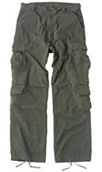 Olive Drab Vintage Paratrooper Fatigues