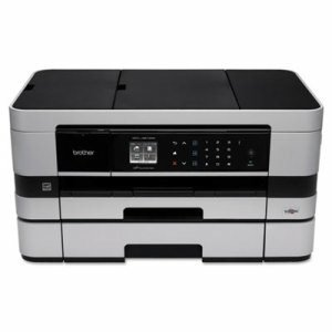 Brother - Mfc-J4610Dw Wireless All-In-One Inkjet Printer, Copy/Fax/Print/Scan