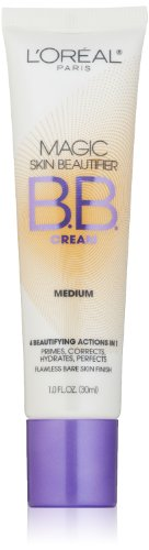 L'Oreal Paris Magic Skin Beautifier Bb Cream, Medium, 1.0 Ounces
