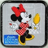 Cotton Buds Disney Cotton Rounds Tin (case of 36)