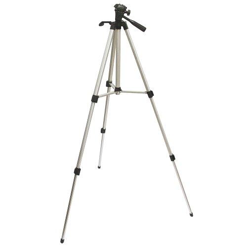 Foto Videostativ 1,40m für Canon ZR100 ZR CV11 C2 ES-4000 ES-410V ES-420V ES-50 ES-5000 ES-520A ES-6000