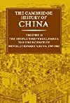 The Cambridge History of China, Volume 14