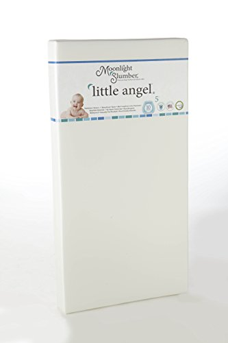 Buy Moonlight Slumber Little Angel Crib Mattress, White