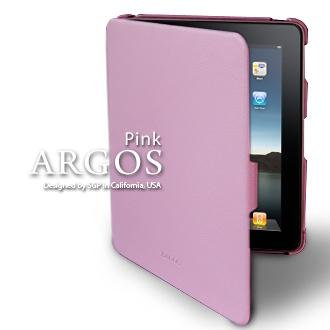 SGP+アイパッド+ケース+ARGOS+【+PINK+】本革+for+Apple+iPad