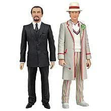 Fifth 5th Doctor Who and the Master SDCC Comic-Con 2010 Action Figure