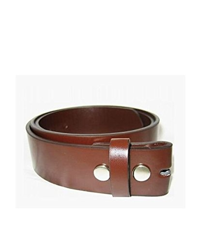 All Color Leather Belt For All Buckles, LARGE, BROWN