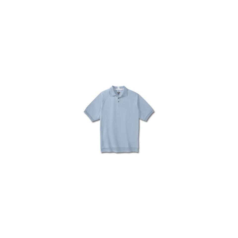 Adidas 2007 Mens ClimaLite Stretch Pique Polo Shirt   China / White   124821
