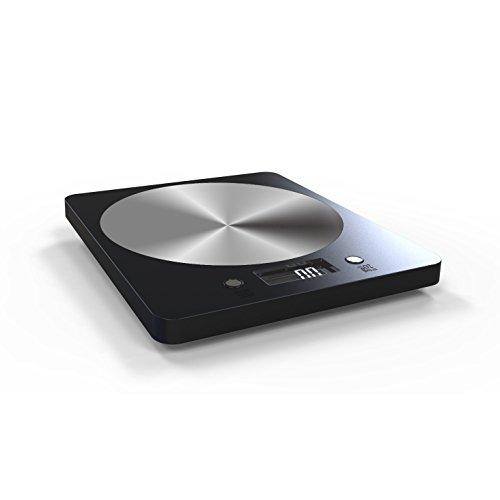 Lifedics Digital Food Kitchen Scale, 11lb/ 5kg High Precision Kitchen Scale (Black)