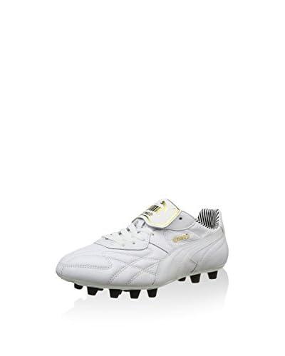 Puma Zapatillas de fútbol King Top Stripe Di F Blanco EU 41