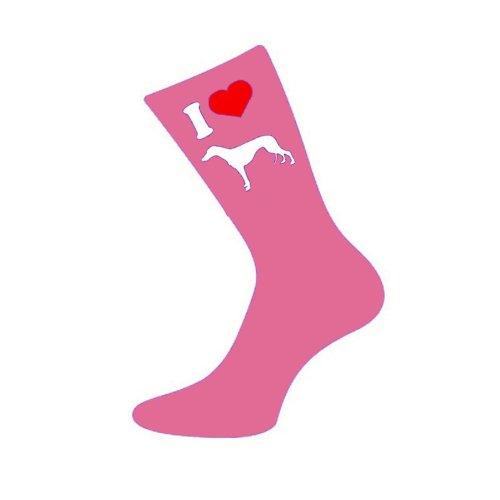 i-love-greyhound-womens-pink-socks