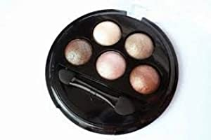 Make Up Revolution Baked Eyeshadow - 5 Shades Pure and Innocent by Makeup Revolution
