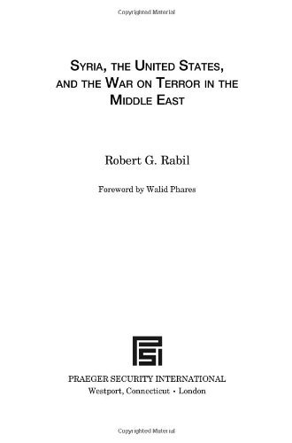 Syria, the United States, and the War on Terror