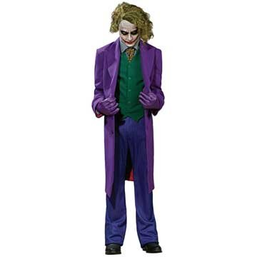 The Dark Knight Grand Heritage Deluxe Costume And Mask The Joker at Gotham City Store