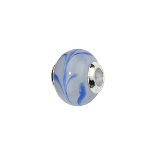 Pasionista 607313 Unisex Sterling Silver 925 Bead