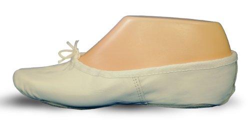 CHEETAH Erwachsene Ballettschläppchen Leder, Chromleder Sohle.