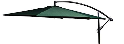 beo Sonnenschirme wasserabweisend mit Standfuß Sonnenschutz, rund, Durchmesser 300 cm, grün