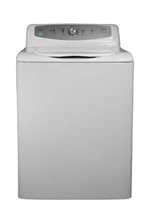 Haier GWT750AW 4 Cubic Foot Energy-Star Top Load Pulsator Washing Machine, White