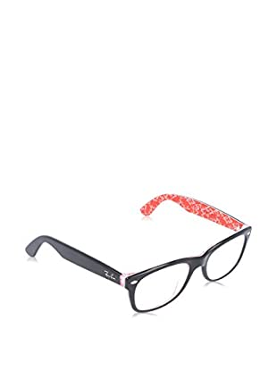 Ray-Ban Montura 5184 _2479 NEW WAYFARER (54 mm) Negro / Rojo