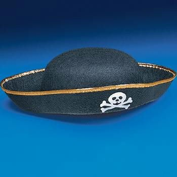 Child Size Pirate Hat (1 ct)