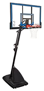 Buy Spalding Portable Basketball System - 50 Polycarbonate Backboard by Spalding