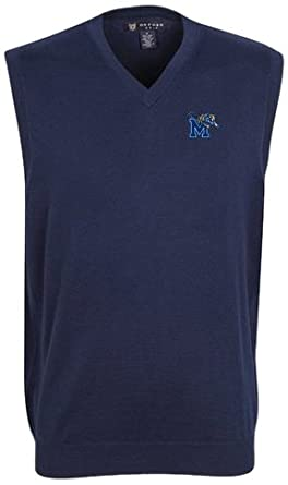 Oxford NCAA Memphis Tigers Mens Bristol Sweater Vest by Oxford