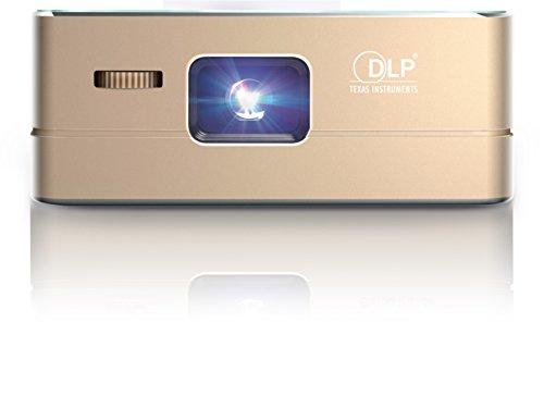 [NUOVO] TecTecTec Proiettore Pico Wi-Fi VPRO1 - Alta Risoluzione-Mobile Projector- Display 2 mt - Wifi, Bluetooth, HDMI, Carica Batteria 90 minuti, Home Cinema Tascabile