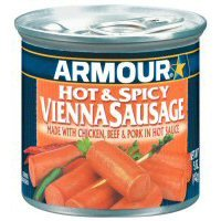 Armour Hot Spicy Vienna Sausage Case Of 24 from Armour