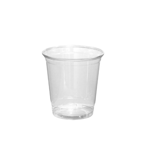 Party Essentials Soft Plastic 8-Ounce Party Cups, Clear, 40 Count