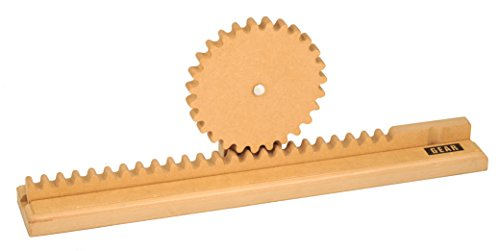 Simple Wooden Machine: Gear Rack Model, (92310)