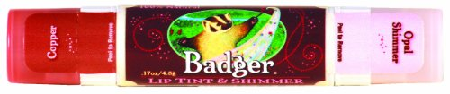 BADGER バジャー バジャー リップティント&シマー コッパー 4.8g