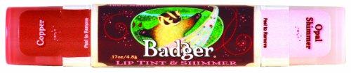 Badger リップティント-0 - shimmer copper