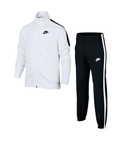 Nike Trainingsanzug B Nsw Trk Suit Tribute limette/schwarz