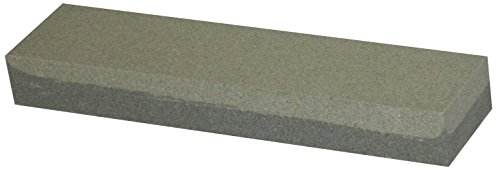 "Fine/grain Knife Sharpening Stone, One Coarse Side, One Fine Side, Aluminum Oxide (8"" S tone)"