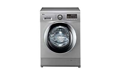 LG F1296QD24 Front-loading Washing Machine (7 Kg, Luxury Silver)