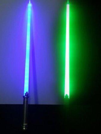 Star Warrs Sword Led Lightsaber Saber Light Sword generic sword light up espada-2pcs