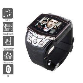 Ultra Thin Gd910 - 1.5 Inch Unlocekd Watch Cell Phone (Quadband, Mp3