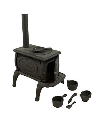 Old Mountain Mini Box Stove Set, Black