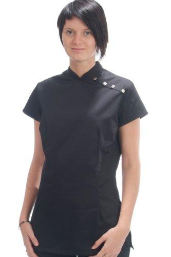 Alexandra Womens Oriental Salon Tunic Black