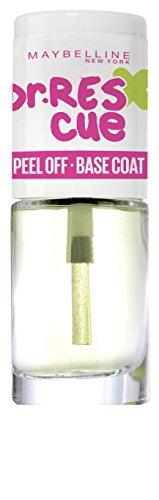 Maybelline New York Dr Rescue Peel Off Base per Smalto Glitterato