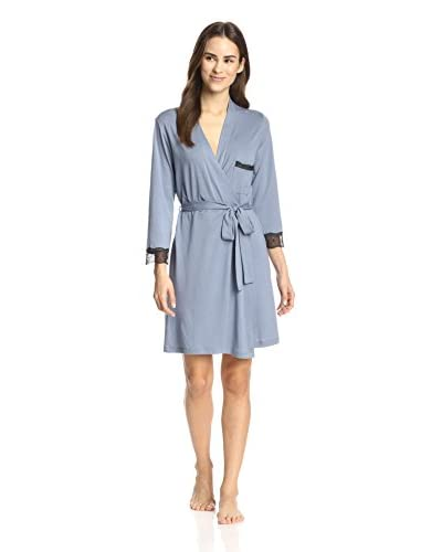 Cosabella Women's Perugia Cropped Sleeve Robe