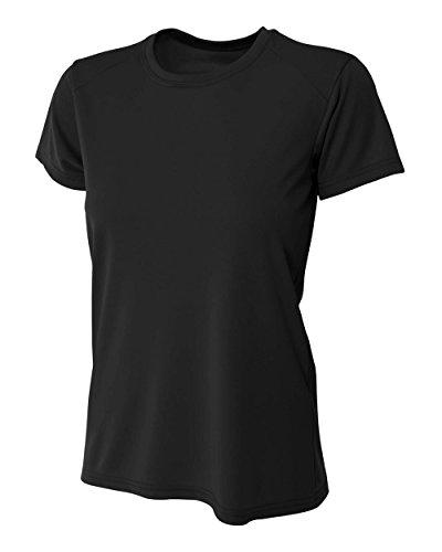 YogaColors Women's Performance Moisture Management Short Sleeve Tee With UPF 30